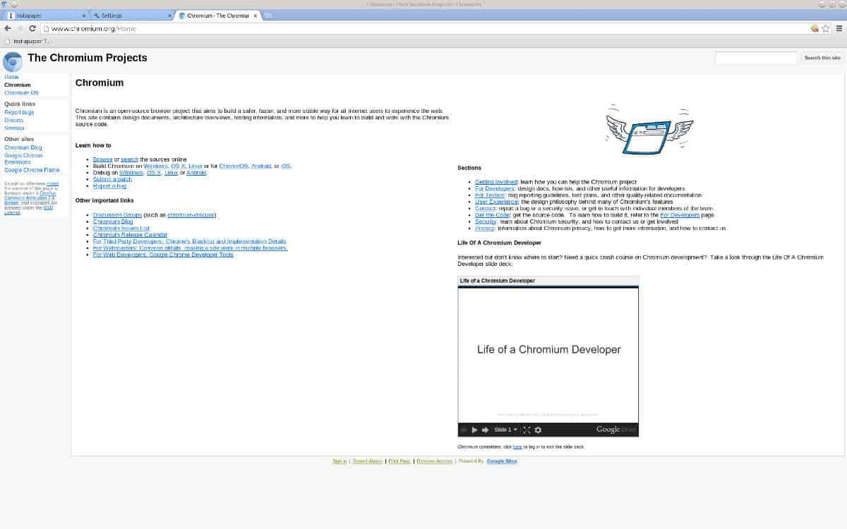 Chromium: An Open-Source Chrome Browser - GreyCoder