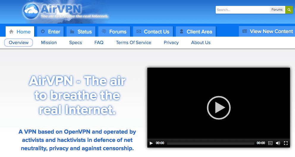 AirVPN (screenshot)